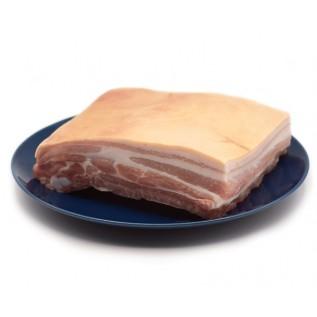Pork Belly With Ribs With Skin