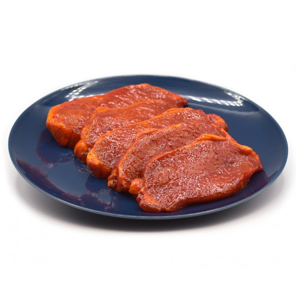 Pork Loin Chops in BBQ Sauce