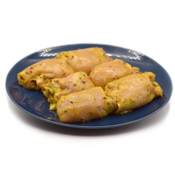 Chicken Thighs in BBQ Sauce